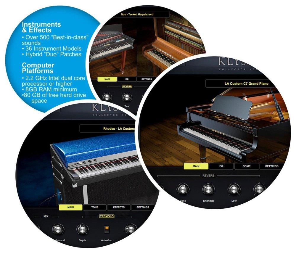 Spectrasonics Keyscape Virtual Keyboard Collection