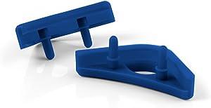 Noctua NA-SAVP1 chromax.Blue, Anti-Vibration Pads for 120/140mm Noctua Fans (16-Pack, Blue)