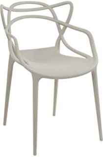 Kartell Masters Sedia, Plastic, Black, 53.5x55x83cm: Amazon.co.uk ...