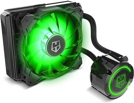 Nox H-120 Aura - NXHUMMERH120AURA - Ventilador Refrigeración Líquida 120 mm, PWM, RGB: Nox: Amazon.es: Informática