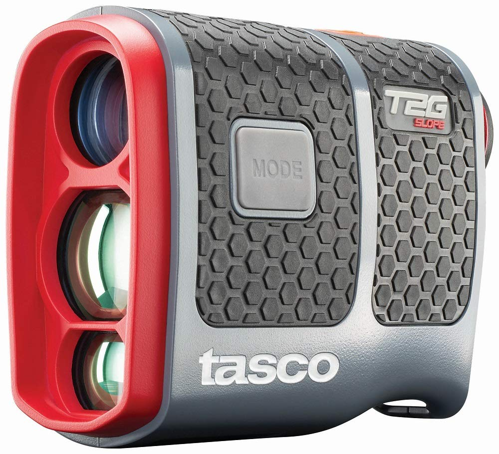 TASCO T2G Slope Golf Laser Rangefinder (2019 Model with Slope, Scan, Target Detection and More. Includes Battery, Carry Case, and Cleaning Cloth) by TASCO