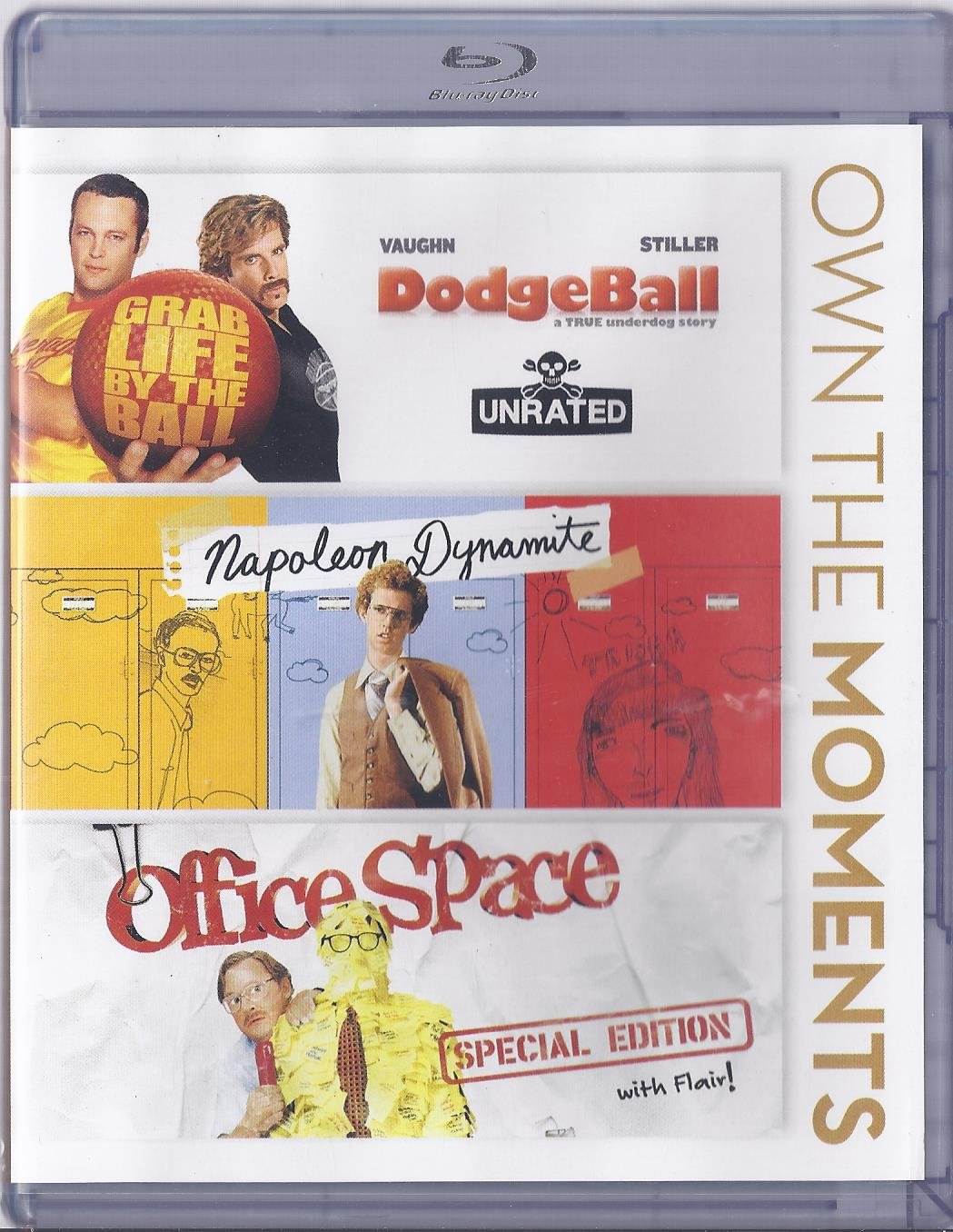 Dodgeball, Napoleon Dynamite, Office Space Triple Feature