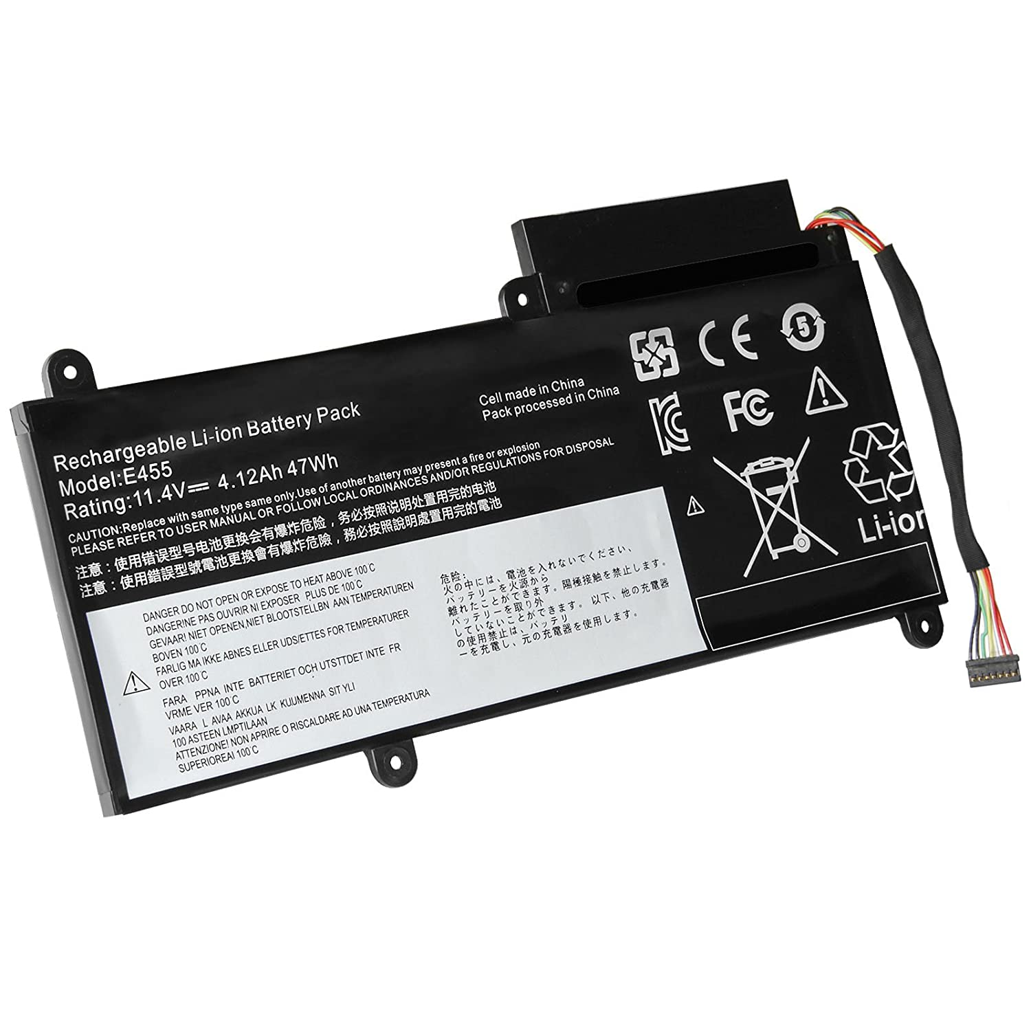 amazon com fancy buying 47wh battery for lenovo thinkpad e450c e455
