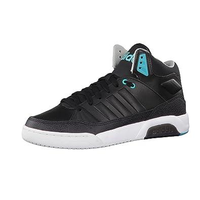 adidas Damen Play9tis W Turnschuhe  Black (Negbas / Negbas / Verimp)