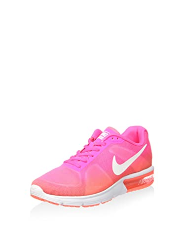 amazon com nike women s wmns air max sequent pink blast white