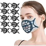 3D Mask Bracket, Silicone Face Mask Bracket, Anti Fog Nose Bridge, Prevent Eye Glasses from Fogging Inner Support Frame…
