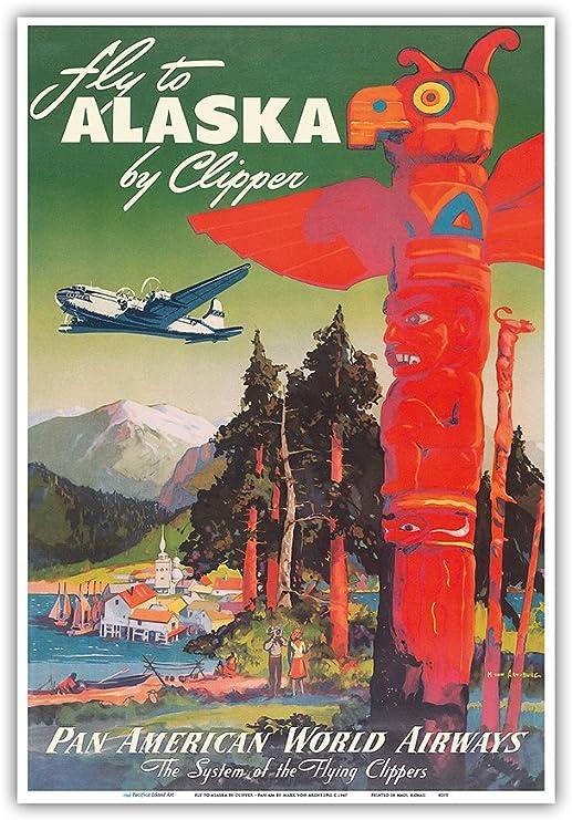 NEW US Travel Poster Alaska