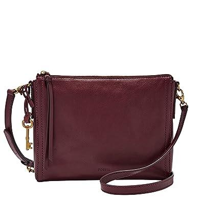 b4f44cca9f46 FOSSIL Emma EW Crossbody Cabernet: Amazon.co.uk: Shoes & Bags
