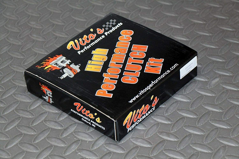 Vitos High performance CLUTCH FIBERS kit friction plates Yamaha 700 Raptor 06-13