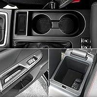 Auovo Anti Dust Door Mats for Subaru WRX 2019 2020 2018 2017 2016 2015 Interior Accessories Custom Fit Door Compartment…