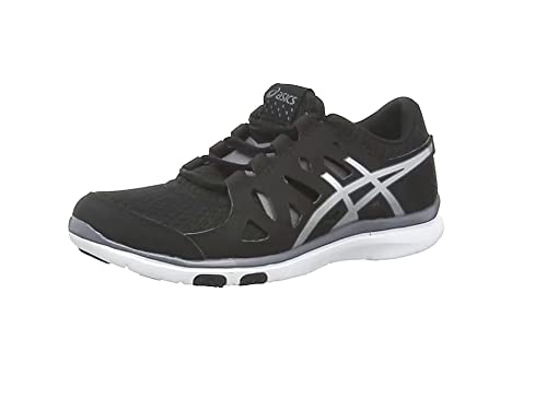 ASICS Gel-Fit Tempo, Women's Cross-Training Shoes, Black/Silver/