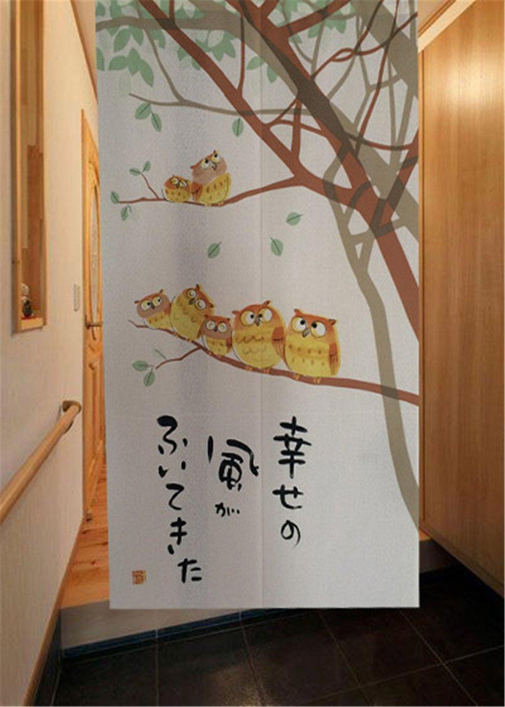 Noren Japanese Doorway Curtainカーテン85 x 150 cm Fishesドアスタイル27   B01FPEC3D2