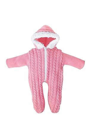 Amazon.es: Bayer Design - Pelele de punto con capucha para muñecas, color rosa (83868): Juguetes y juegos