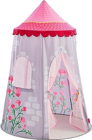 HABA 304209 - Spielzelt Märchenturm, märchenhaftes Kinderzimmer-Zelt ...