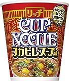 日清 カップヌードル リッチ フカヒレスープ味 78g ×12個