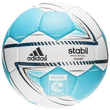4a48116f395 Adidas Stabil EHF Cup Handball Ball Champ Men Match Ball Size 3 Blue White   Amazon.co.uk  Sports   Outdoors