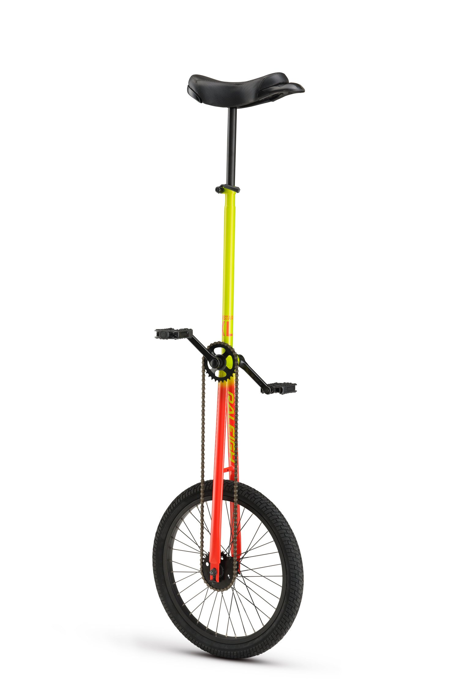 RALEIGH Unistar XL 20, 20inch Wheel Unicycle, Yellow by RALEIGH