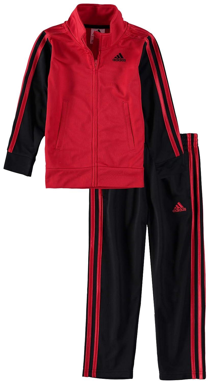 9cbf3fc94220 Amazon.com  adidas Boys  Tricot Jacket and Pant Set  Sports   Outdoors