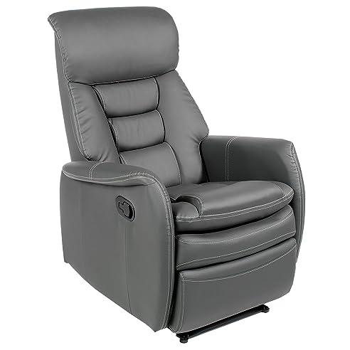 Sessel mit liegefunktion  Fernsehsessel Relaxsessel XXL Sessel SOPHIE mechanisch regelbare ...