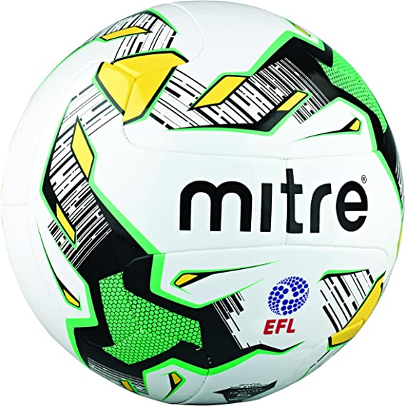 Mitre Delta Match hyperseam - Balón de fútbol, Color Blanco/Negro ...