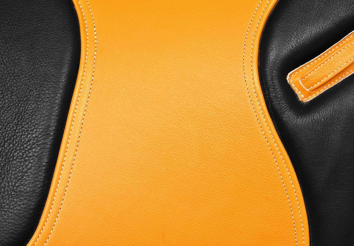 35,6 cm /à 45,7 cm Radical Selle de Saut en Cuir synth/étique Tout Usage avec Tapis de Selle Taille