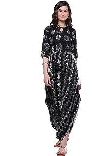 82fdbad3a3e Idalia Striped Dhoti Jumpsuit  Amazon.in  Clothing   Accessories