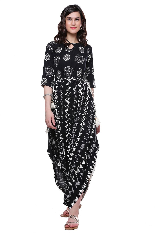 Divena Women's Cotton Dhoti Style Kurta