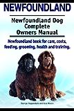 Newfoundland Dog. Newfoundland dog book for costs, care, feeding, grooming, training and health. Newfoundland dog Owners Manual.