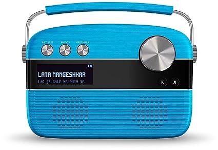 Saregama Carvaan Portable Digital Music Player (Electric Blue)