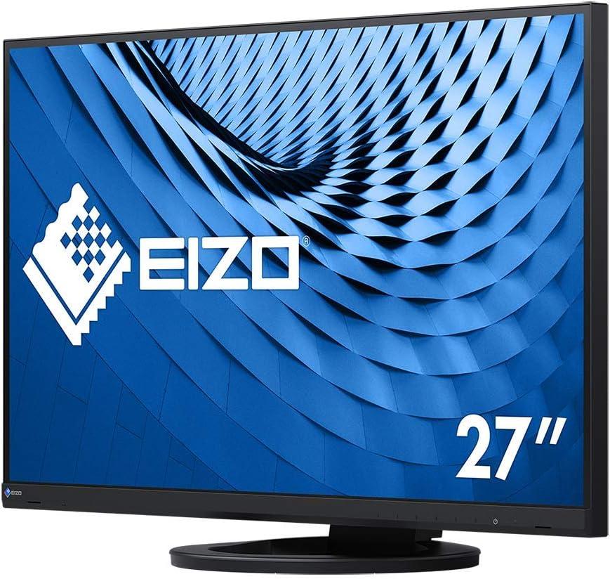 Eizo Flexscan Ev2760 Bk 68 5 Cm 27 Zoll Ultra Slim Monitor Dvi D Hdmi Usb