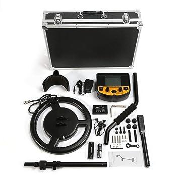 LoveOlvidoE Smart Sensor AS924 Detector de Metales subterráneo Profesional Buscador de Plata Dorado Ajustable Treasure Hunter Seeker 2.5m Profundidad: ...