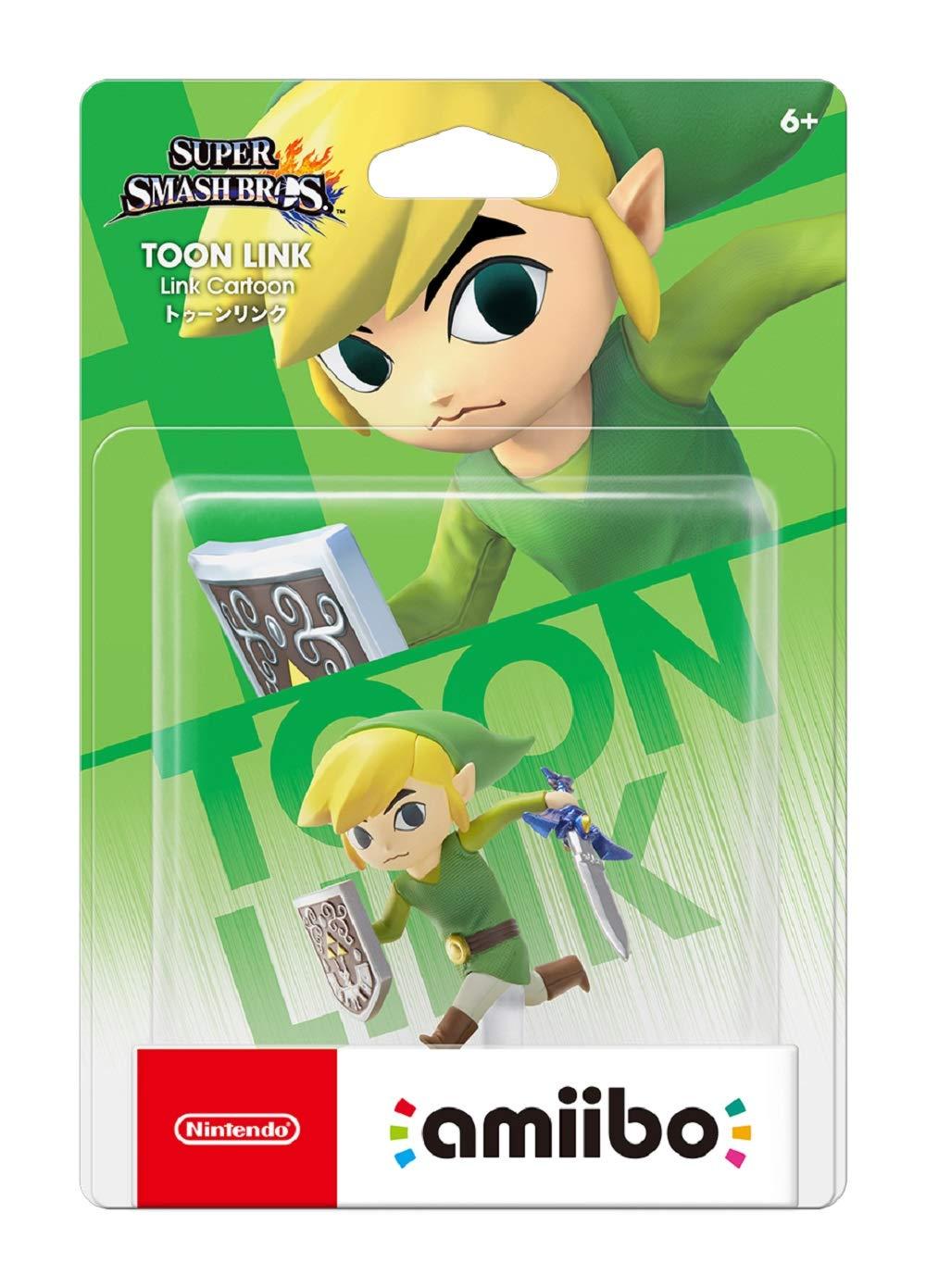 Toon Link amiibo - Japan Import (Super Smash Bros Series) by Nintendo (Image #2)