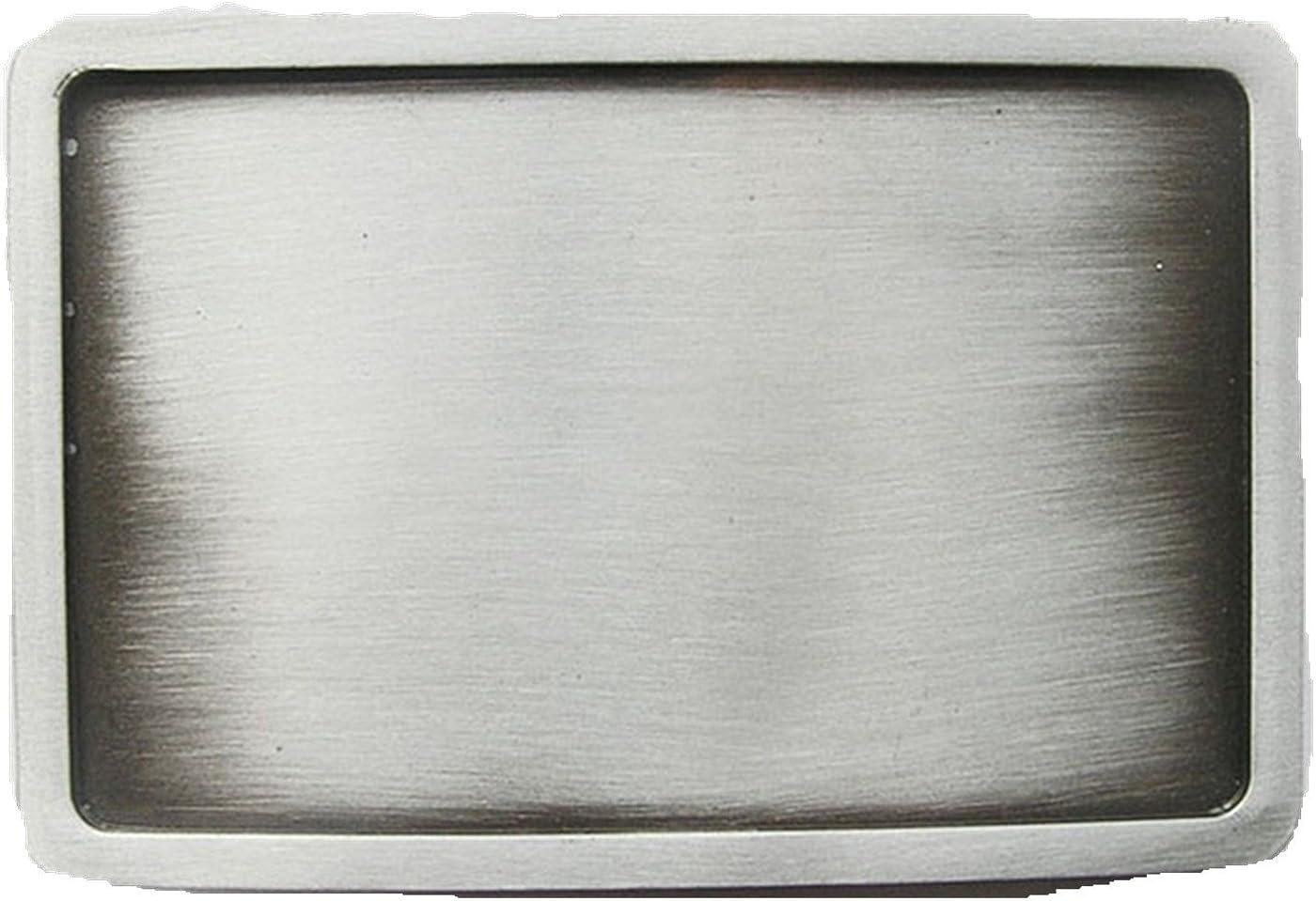 Classic New Rectangle Blank Belt Buckle Custom Belt Buckle