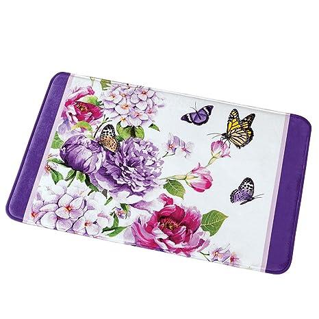 Amazon.com: Collections Etc de mariposa Floral decorativo ...