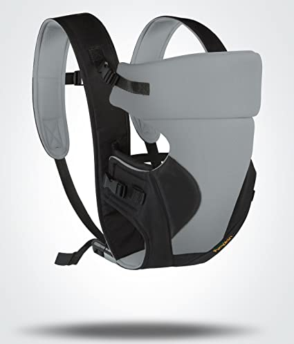 f00bc4e08b5 Buy Little Pumpkin - Kiddie Kingdom Baby Carrier (Grey Black) Online at Low  Prices in India - Amazon.in
