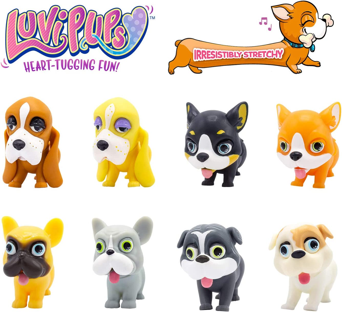 Luvi Pups - an adorable puppy that you can squeeze, tug and collect.