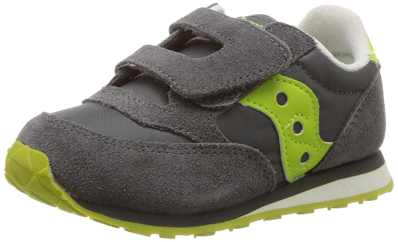 ffcf37ae47 Saucony Boy's Baby Jazz HL Shoe, Grey Multi, 9. 5 Wide US Toddler ...