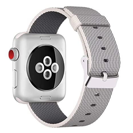 HILIMNY Para Correa Apple Watch 42MM, Hebilla de Acero ...