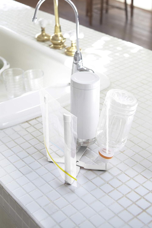 Japan Import//el Paquete y el Manual de en japon/és Yamazaki Torre plastikt?Te Plana Eco de Torre White