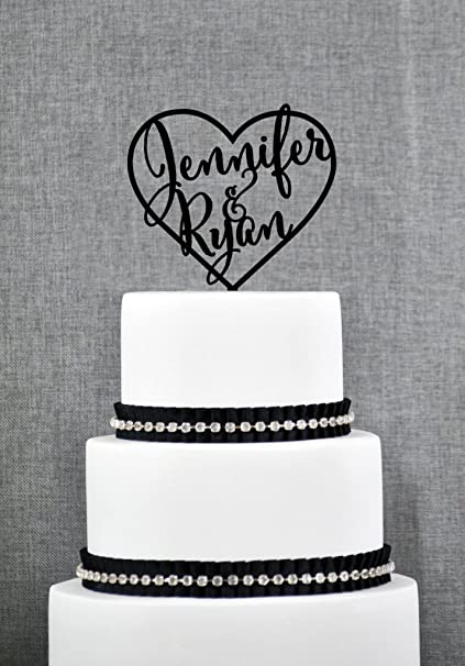 Adorno para la cima de la tarta de boda, adorno de pasteles ...
