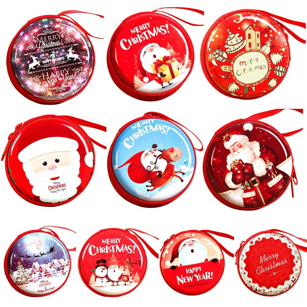 iBecly Christmas Decorations Gifts Innovative Childrens Toys Gifts Small Change Headset Line Storage Bag Christmas Tree Window Decoration Pendant.