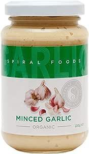 Spiral Foods Organic Minced Garlic 220 g
