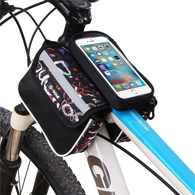 Bolsa de tubo frontal de tubo delantero de bicicleta Perfecto para ...