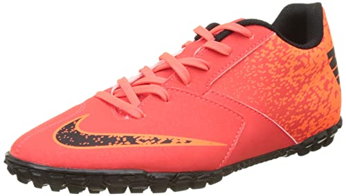 new style 1cb64 d13f9 NIKE Men s Bombax Tf Footbal Shoes, Orange (BRT Black Hyper Crimson),