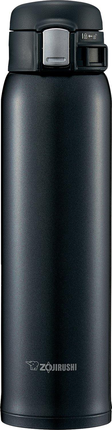 Zojirushi SM-SD60BC Stainless Steel Mug, 20-Ounce, Silky Black