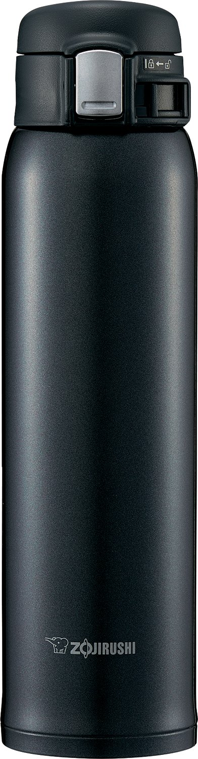 Zojirushi SM-SD60BC Stainless Steel Mug, 20-Ounce, Silky Black by Zojirushi