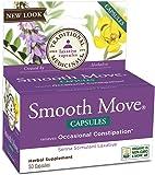 Traditional Medicinals Smooth Move Senna Capsules, 50 Count