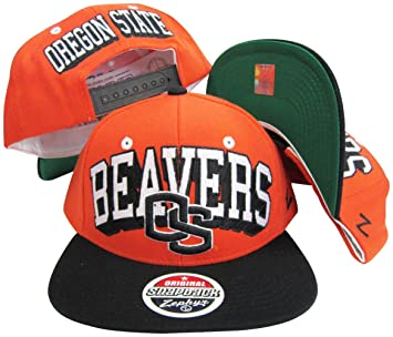 half off 6f8d7 d27aa Image Unavailable. Image not available for. Color  Oregon State Beavers  Adjustable Snapback Hat Cap