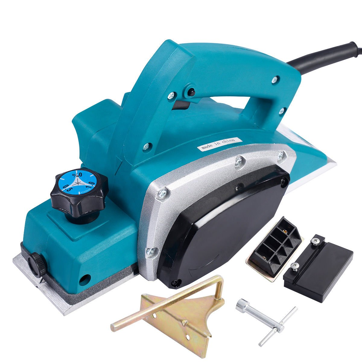 NEW Powerful Electric Wood Planer Door Plane Hand Held Woodworking Surface