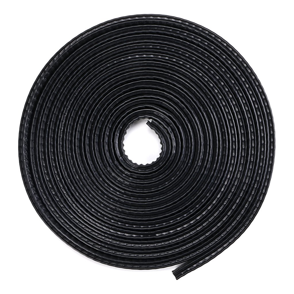 Sumnacon 32Ft 10mm H x 7mm T U Shape Rubber Edge Trim Car Door Seal Guard Protector Edging Strip Weather Stripping for Car Metal Edges Boat 10M Grip Range 1.0mm to 2.5mm